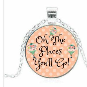 Oh, The Places you'll Go! Necklace